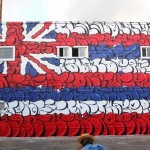 Pow! Wow! Hawaii '15: OG Slick creates a new mural at Fresh Cafe in Kaka'Ako