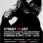 """Street Smart"" New Group Show Bergen, Norway April 25th"
