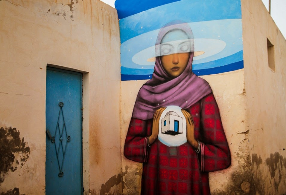 Seth GlobePainter New Pieces – Djerba, Tunisia