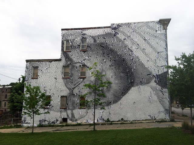 Sten And Lex New Mural In Baltimore