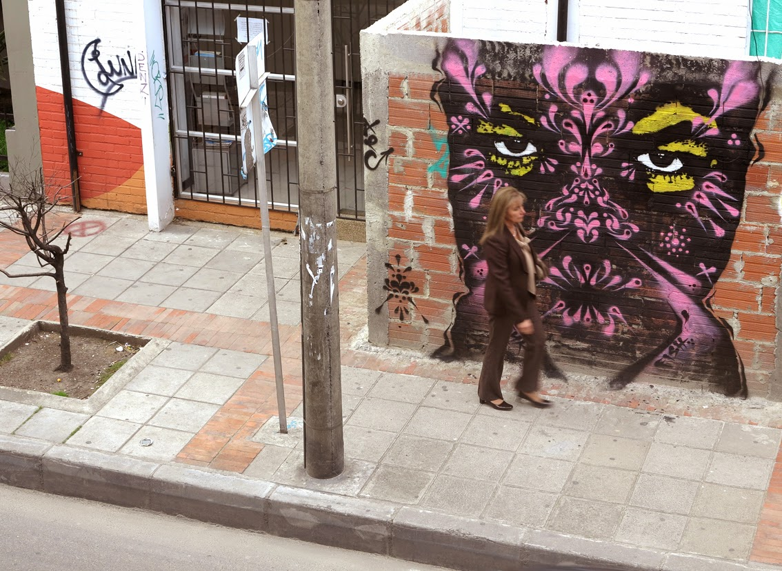 Stinkfish New Street Pieces - Bogota, Colombia