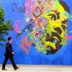 Stinkfish New Mural In Bogota, Colombia