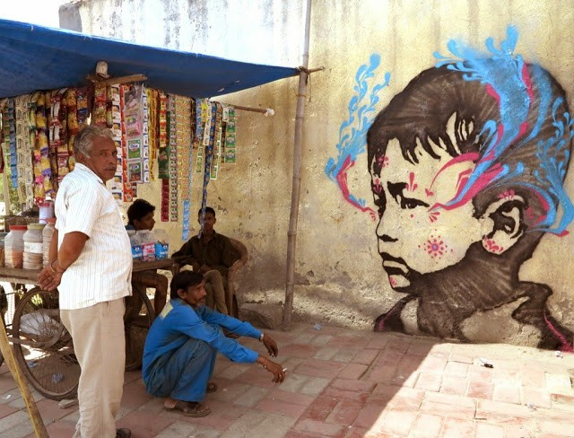 Stinkfish New Murals – Delhi, India