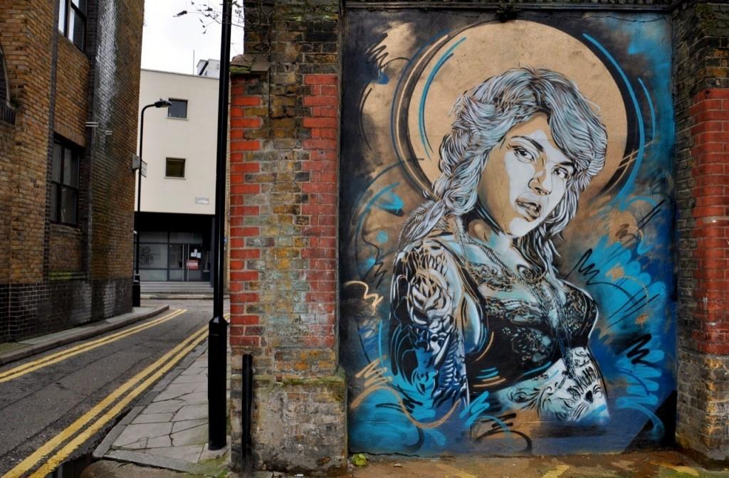 C215 New Murals – East London, UK