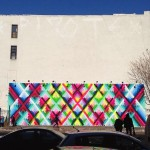 Maya Hayuk New Mural – Houston & Bowery, New York City