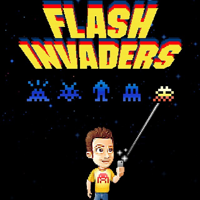 """Invader """"FlashInvaders"""" iOS App Available Now"""