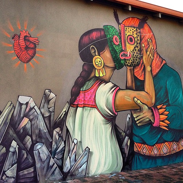 Saner new mural perth australia streetartnews for Arte mural en mexico