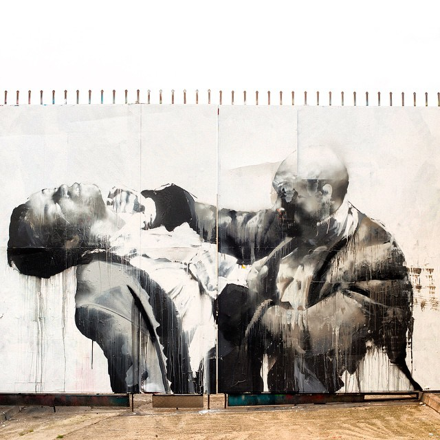"Conor Harrington ""Once Were Warriors"" New Mural – East London, UK"