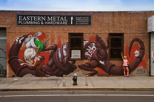 ZED1 New Street Art In Brooklyn – New York City