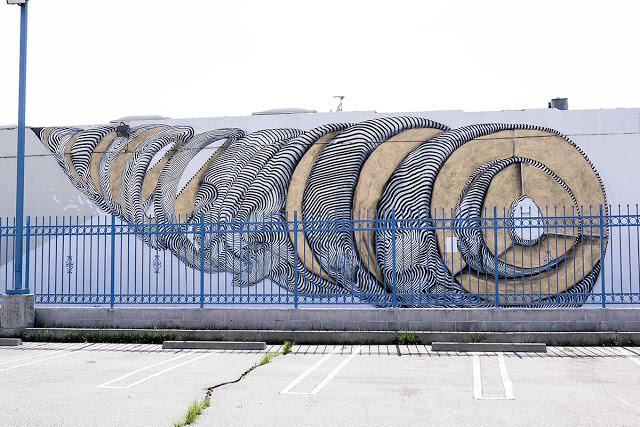 2501 New Mural In Los Angeles, USA