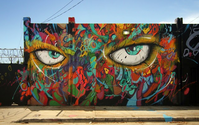 Abstrk New Mural In Miami, USA