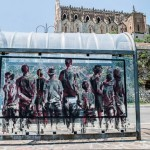Borondo New Street Pieces In Gaeta, Italy