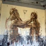 Borondo New Mural In Paris, France