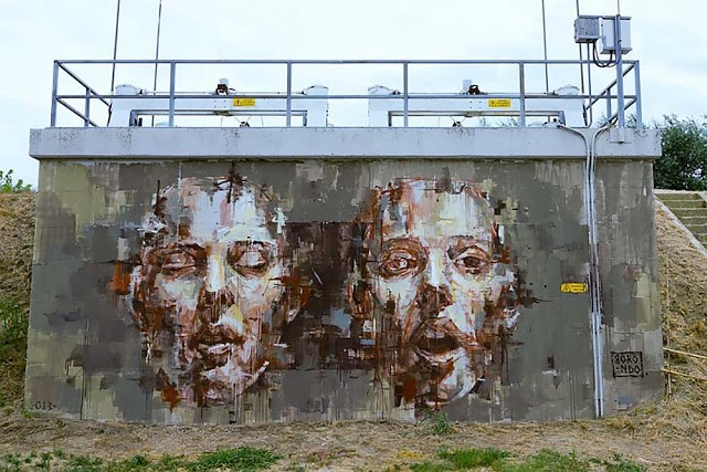 Borondo New Mural In Cotignola, Italy (Part II)