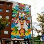 Diego Dedablio New Mural In Amsterdam, Netherlands