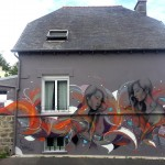 Fin DAC x Morten Andersen New Mural In Brest, France