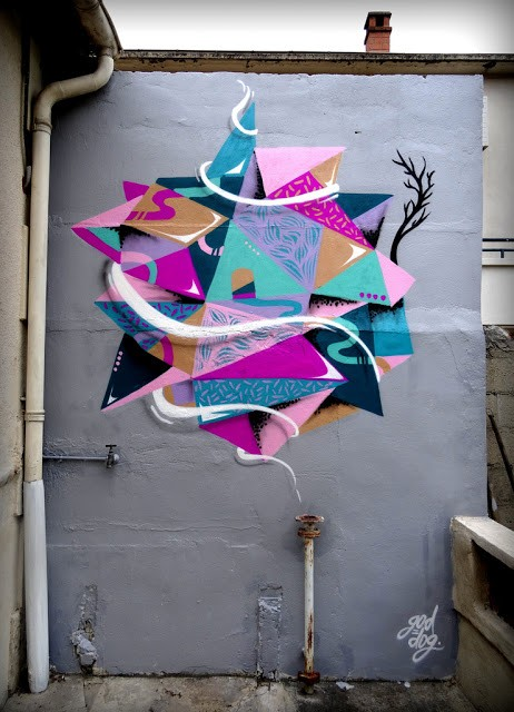 GoddoG New Street Piece In Avignon, France