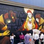 INTI New Mural In Lima, Peru