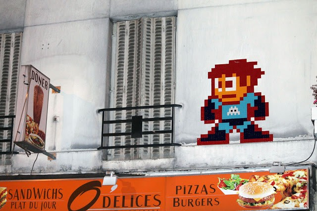 Invader New Invasions In Paris, France