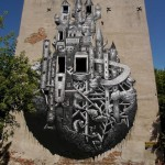 Phlegm New Mural In Warsaw, Poland