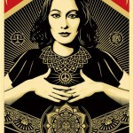 "Shepard Fairey ""Peace & Justice Woman"" New Print Available April 18th"