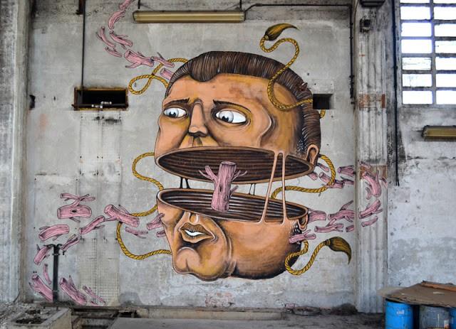 SeaCreative New Mural In Varese, Italy