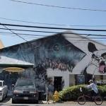 Shark Toof x Angry Woebots New Mural In Honolulu, Hawaii