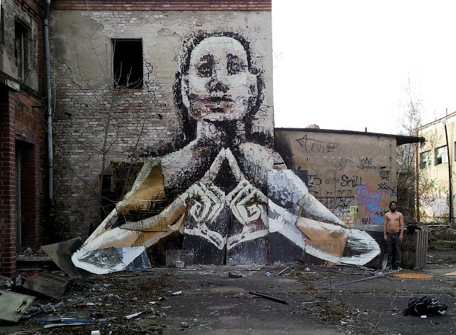 Alaniz New Mural In Berlin, Germany