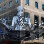 Alexandre Orion New Mural In Frankfurt, Germany