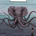 Alexis Diaz New Mural In London, UK