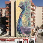 Aryz New Mural In Sanlúcar de Barrameda, Spain