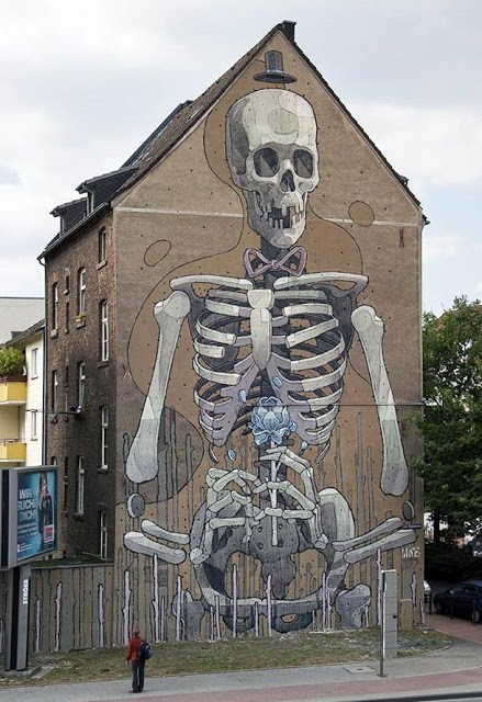 Aryz New Mural In Cologne, Germany