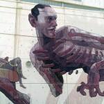 Aryz New Mural In Madrid, Spain