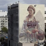 Aryz New Mural In San Francisco, USA