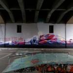 Ata Bozaci New Mural In Zurich, Switzerland