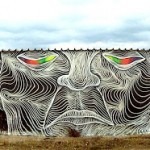 Awer New Mural In Polignano a Mare, Italy