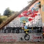 Awer x Tenia New Mural In Rome, Italy