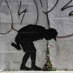 "Banksy ""Better Out Than In"" New Street Piece In New York City"