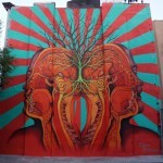 Beau Stanton creates a new mural in New York City