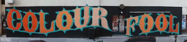 Ben Eine New Mural In Vienna, Austria