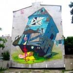 Sainer x Bezt New Mural In Lodz, Poland
