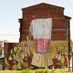 Blu New Mural In Ordes, Spain
