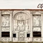 Blu New Mural In Roma, Italy