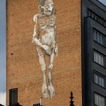 Bonom New Mural In Brussels, Belgium