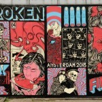 Broken Fingaz New Mural In Amsterdam, Netherlands
