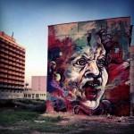 C215 New Mural In Bratislava, Slovakia