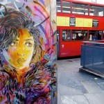 C215 New Street Pieces In London, UK