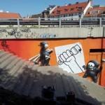 Cart1 New Mural In Bratislava, Slovakia
