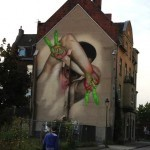 Case New Street Art In Dusseldorf, Germany