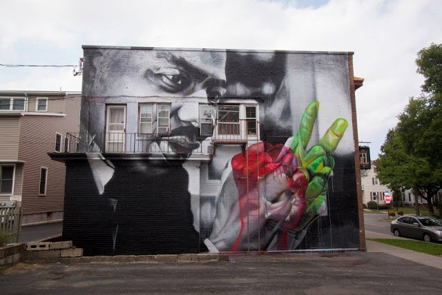 Case New Mural In Rochester, USA